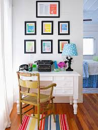 Home office decorating ideas nyc Eclectic Tips For Decorating Home Office Better Homes And Gardens Home Office Better Homes Gardens