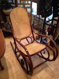 rare vintage habitat thonet style bentwood dinette rocking chair