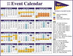 event calendar antigua news ayc event calendar for 2015 16