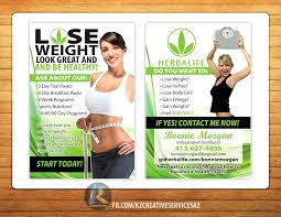 herbalife flyer template business cards nutrition design free