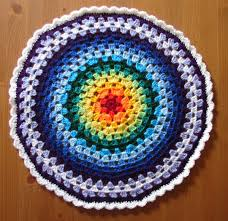 Granny Circle Crochet Pattern
