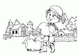 Small Picture Pumpkin Patch Coloring Pages Printable Coloring Home