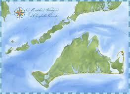 martha s vineyard and elizabeth islands nautical chart wall art