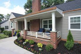 front porch extension in north main