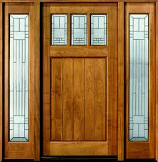 entry door custom single with two sidelites solid wood lovely exterior front doors glass as