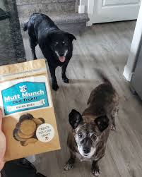 Mutt Munch Dog Treats - One of the side ...