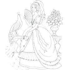 Free Disney Princess Coloring Pages Contentparkco