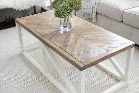 farmhouse coffee table modern farmhouse herringbone coffee table diy farmhouse coffee table ikea