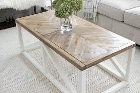 farmhouse coffee table modern farmhouse herringbone coffee table diy farmhouse coffee table ikea