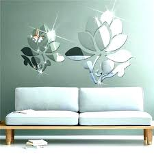 picturesque wall decals stickers for living room personalized appliques nursery 3d flowers creative large world wall flowers decals felt flower art 3d