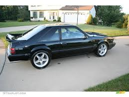 1992 Black Ford Mustang LX 5.0 Coupe #17251468 Photo #2 | GTCarLot ...
