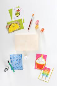diy greeting card organizer box salty canary