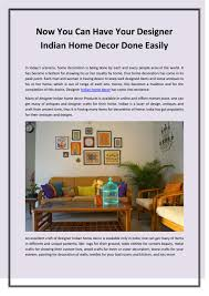 Indian Designer Home Decor Now You Can Have Your Designer Indian Home Decor Done Easily