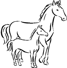 Horses For Kids Drawing at GetDrawings.com | Free for personal use ...