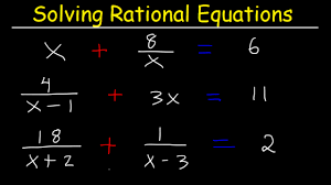 solving rational equations with fractions and variables diffe denominators college algebra you