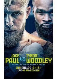 Jul 13, 2021 · jake paul vs tyron woodley tickets. Jake Paul Vs Tyron Woodley Date Time Venue Ppv Tickets Undercard And More