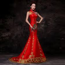 Asian inspired wedding dress