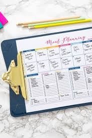 How I Organize My Meal Planning And Grocery Shopping With Free