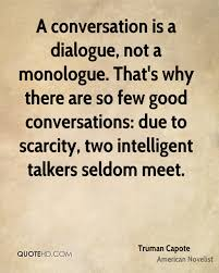 A Good Conversation Quotes