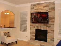 lcd wall mount fireplace tv installation houston home theater wallmounthouston stone above ideas recessed putting television mounting flat screen stand over