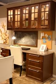 kitchen cabinets for home office. kitchen office like the file drawers but would make cabinets above desk for home i