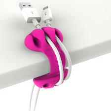 bobino desk cable clip non slip tidy wire