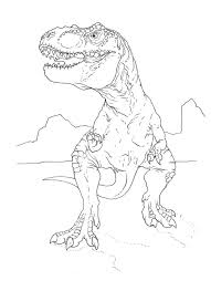 Simple T Rex Drawing At Free For Personal Use