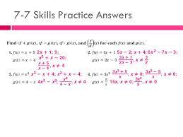 2 7 7 skills practice answers
