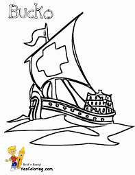 Fresh Pirate Ship Coloring Pages 17 On Picture Coloring Page with ...