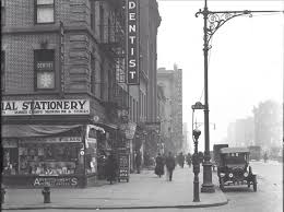 the corner of street and eighth avenue in manhattan circa photo from the collection of al ponte