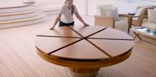 expandable round dining table. creative design of expandable round dining table e