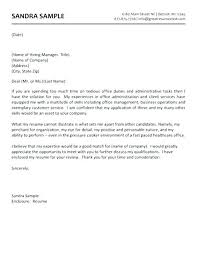 Admin Cover Letter Administrative For Resume Medical Nt No