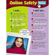 School Safety Rules Chart Chart Online Safety Rules T 38062