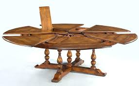 expandable round dining room table round dining table seats extra large solid walnut expandable round dining