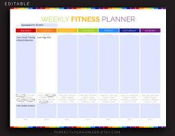 9 Exercise Schedule Templates Doc Pdf Free Premium Templates