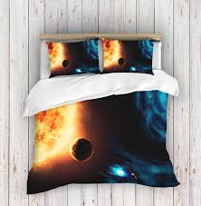 space galaxy bedding duvet galaxy bedding full galaxy bedspread twin outer space bed set