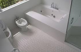 white floor tiles bathroom. Bathroom: Extraordinary White Mosaic Bathroom Floor Tile Inspiration -  A White Floor Tiles Bathroom
