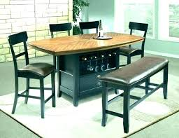 ikea dining room table extendable brown black tables counter height atelier bjursta round