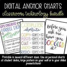 Digital Anchor Charts Classroom Technology