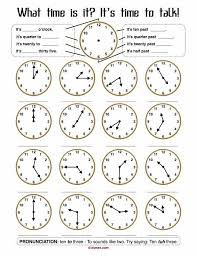 Clock worksheets grade 1 7330042 - virtualdir.info