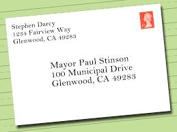 Business Letter Envelope Format Attention Highest Quality Address