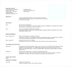 Formatting A Resume In Word Cool Free Professional Resume Format Packed With Resume Format Doc It