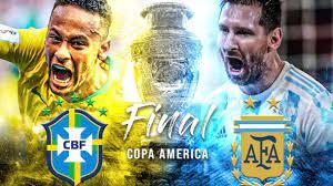 Brazil vs Argentina Copa America Final ...