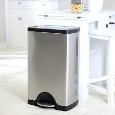 stainless steel garbage cans popular mesmerizing trash can steel trash can kitchen garbage bins stainless stainless steel garbage cans