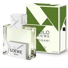NEW: <b>Loewe</b> - <b>Solo Loewe Origami</b>!
