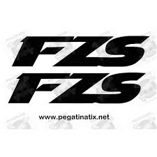 stickers decals yamaha fzs