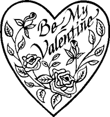 Small Picture Be My Valentine Coloring Pages GetColoringPagescom