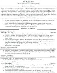 This Is Facility Maintenance Resume – Articlesites.info