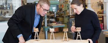 architectural engineering models. Architectural Engineers Looking At Structural Models Engineering O