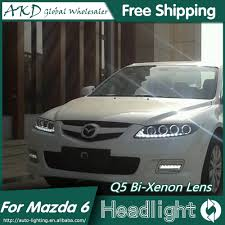 2006 Mazda 6 Lights Akd Car Styling For Mazda 6 Headlights 2004 2013 Mazda6 Led